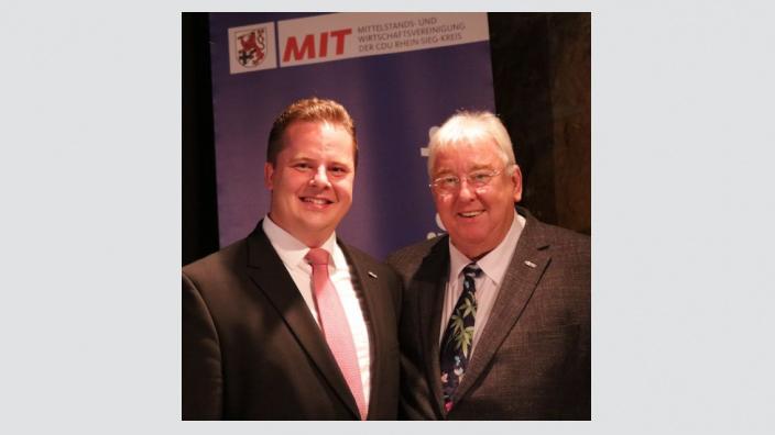 Andreas Stolze ist neuer Vorsitzender der MIT Rhein-Sieg